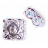 Crystal/ Silver (Aurora Borealis)